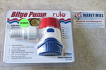 Rule 500 Bilge pump 24V / 1.5A, Rule 25DA-24