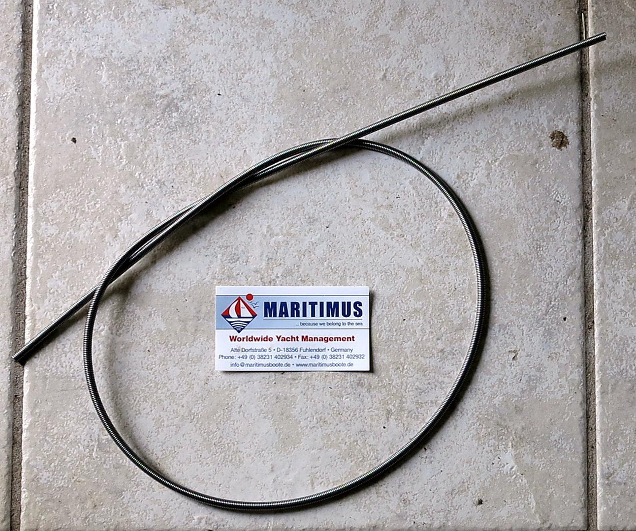 Liros Porto 16mm Festm schwarz // weiß 4900 daN BRL m//3,10€ // Anker Leine
