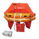 8 Person LALIZAS ISO RACING Liferaft with BV Type Approval Certificate, Canister
