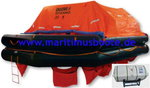 35 Pers. Liferaft SOLAS OCEANO, Throw Over-board  SOLAS Approved by Germanischer Lloyds