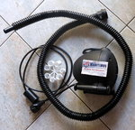Bravo OV10, electric air pump 220 V 1700 l / min 1000W