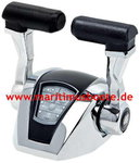 Approval EU and US, Twin engines, CHROME FINISH CONTROL STATIONS, Ultraflex electronic control