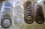 Friction disc Kit transmission Liaaen ACG63 / 450, 20x bronze and 20x steel discs