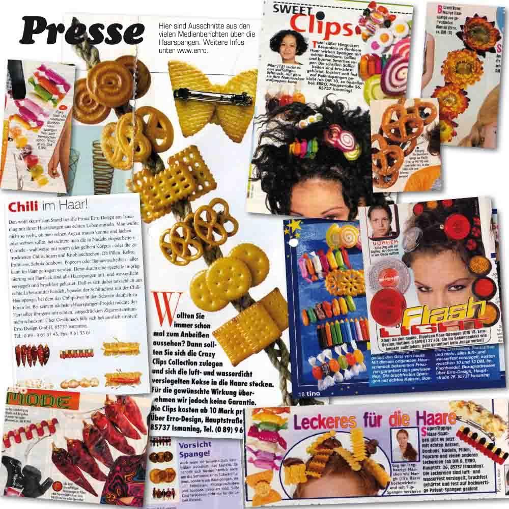 Haarspangen, Übersicht, Hairclip, Baretta, Auswahl, Haarschmuck, Modeschmuck, Bijoux, Haarklammern