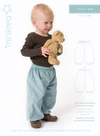 Pattern Baggy Trousers - 20300