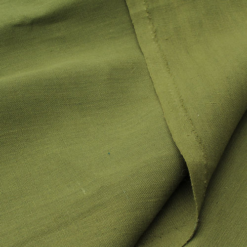 Hemp Fabric Canvas green