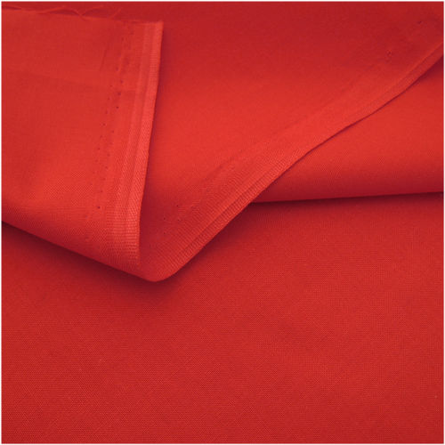 Remnant 1,4m Westfalen Fabric Organic Cotton Red