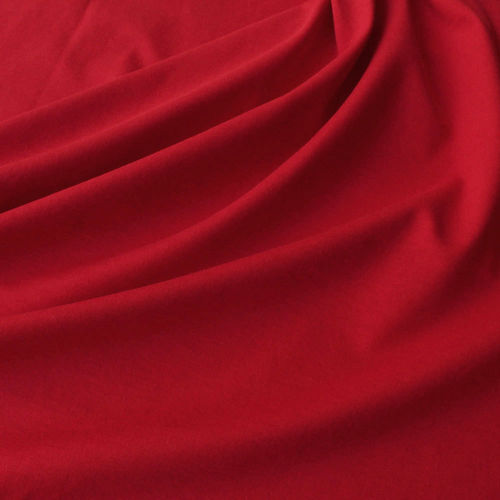 Remnant 0,75m Organic Soft Touch Jersey Red, 100% Organic Cotton, GOTS-certified