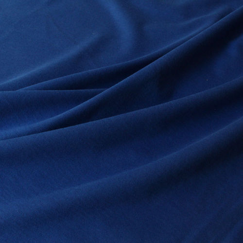 Organic Soft Touch Jersey Royal Blue, 100% Organic Cotton, GOTS-certified