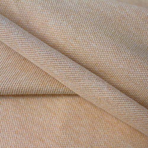 Naturally Coloured Organic Cotton Piquee-Jersey, brown