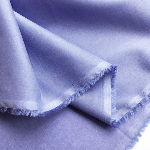 Voile deep periwinkle, 100% Organic Cotton, GOTS-certified