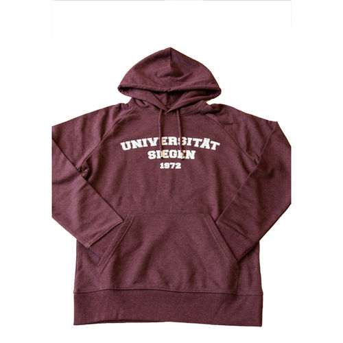 Unisex Hoodie COLLEGE grape red
