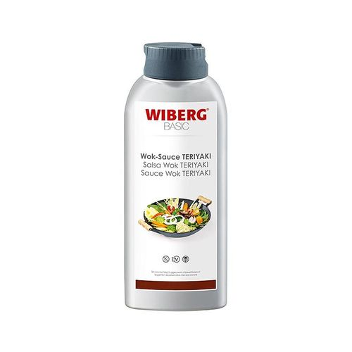 WIBERG BASIC Wok Sauce Thai Chilli (Chili), Squeezeflasche, 665 ml