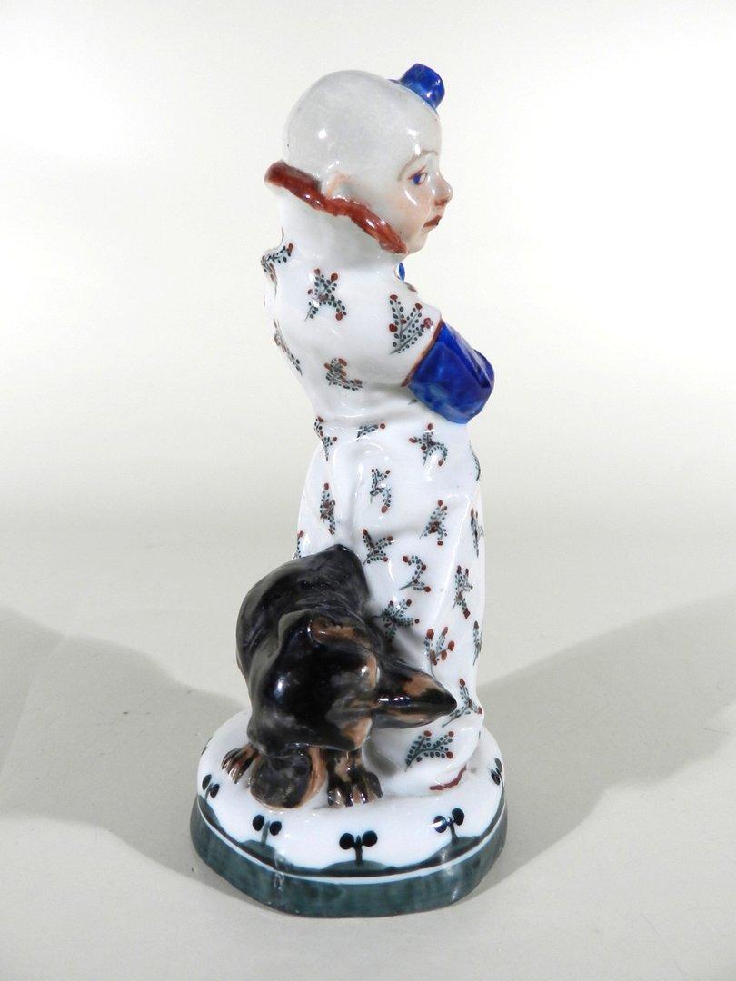porzellan clown figur design martin wiegand m nchen meissen vor 1910 verkauft les. Black Bedroom Furniture Sets. Home Design Ideas