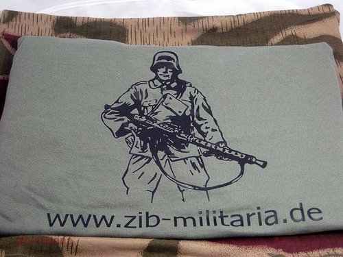 "T-Shirt WH ""zib-militaria"", Fruit of the Loom Premium Quality"