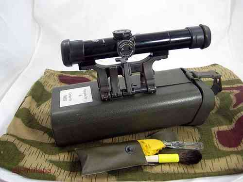 G3 Hensoldt German Army Scope, Model 1, with mount etc.