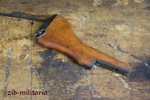 UZI wooden stock