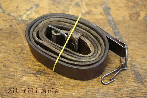 AK47 leather sling, eastblock, from Balkan lot