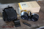 AR15 / M16 / M4 drum mag .223 with pouch and accessoiries, 100rds double drum