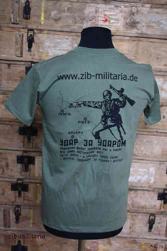 "T-Shirt Russ. ""zib-militaria"", Fruit of the Loom Premium Quality"