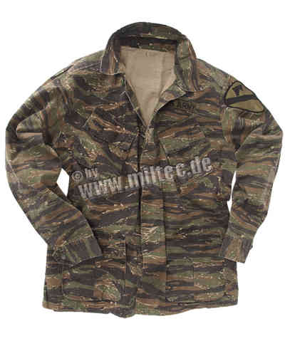 US Jungle Jacket, Tiger Stripe