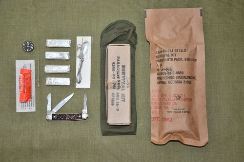 US Survival Kit SRU-16/P, ähnl. Vietnam