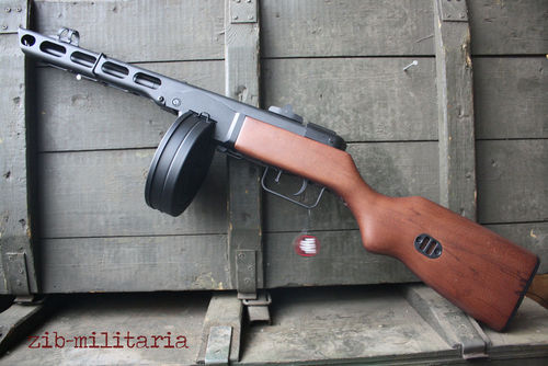 PPSH41 MP, Stahl/Echtholz, Snow Wolf Airsoft, AEG, 0,5 Joule
