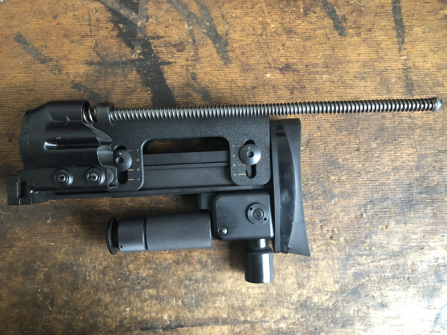 H K Psg1 G3 Butt Stock Sniper Rifle Mint Condition Version 2