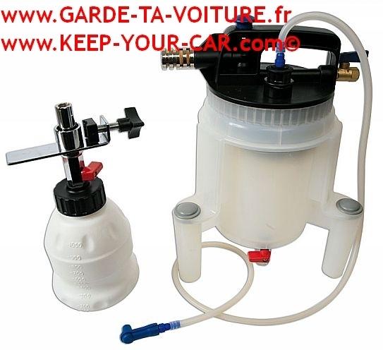 Eclypse Frein Hydraulique Bleed Kit