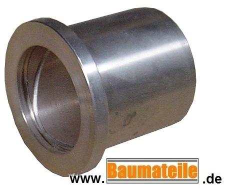 Stahlbuchse mit Innenschmiernut 30x40x60mm für Bagger Radlader usw