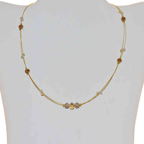 Damenhalskette Easy Chain gold