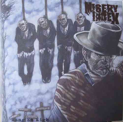 "MISERY INDEX 'Hang em High' 7"" limited green vinyl"