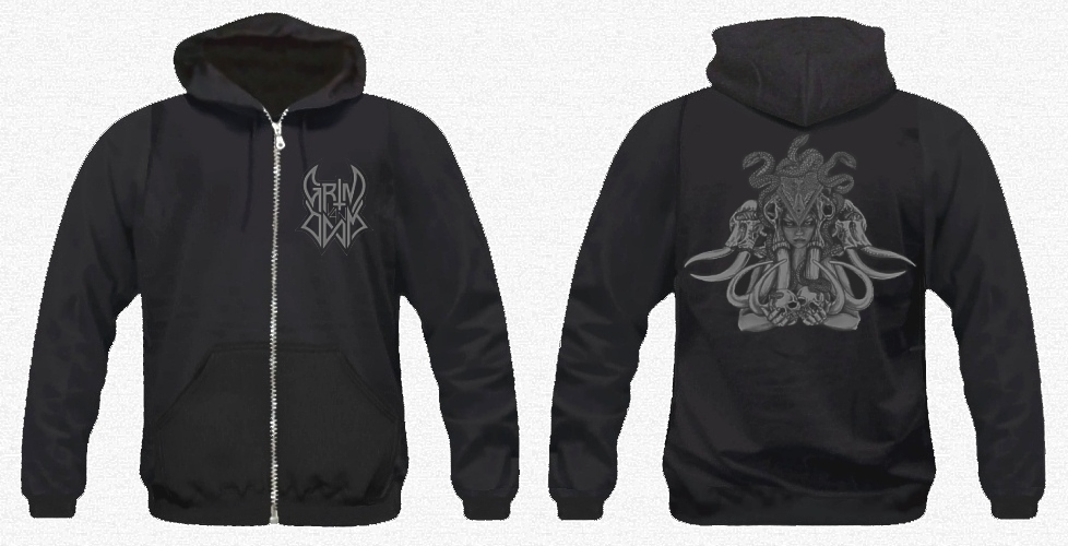 GRIM VAN DOOM 'Grim Love' Hooded Zip Sweatshirt