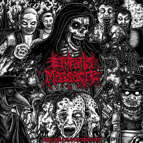 ENTRAILS MASSACRE 'Decline Of Our Century' 11""