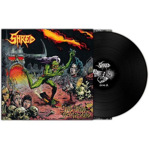 SHRED 'Still Hitting The Ground' LP