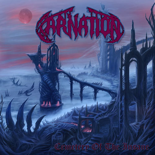 CARNATION 'Cemetery of the Insane' LP