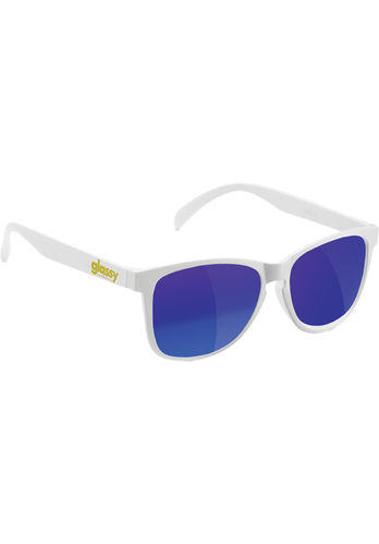 GLASSY SUNHATERS Deric Sonnenbrille white/blue