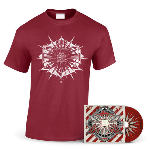 CORTEZ 'No More Conqueror' T-Shirt + DIGI CD
