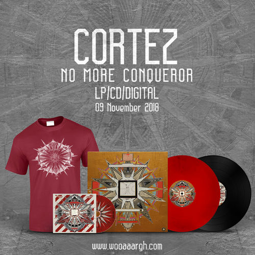 CORTEZ 'No More Conqueror' Bundle (LP, CD, T-Shirt)