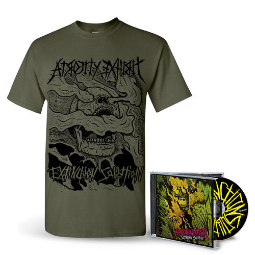 ATROCITY EXHIBIT 'Extinction Solution' CD + T-Shirt