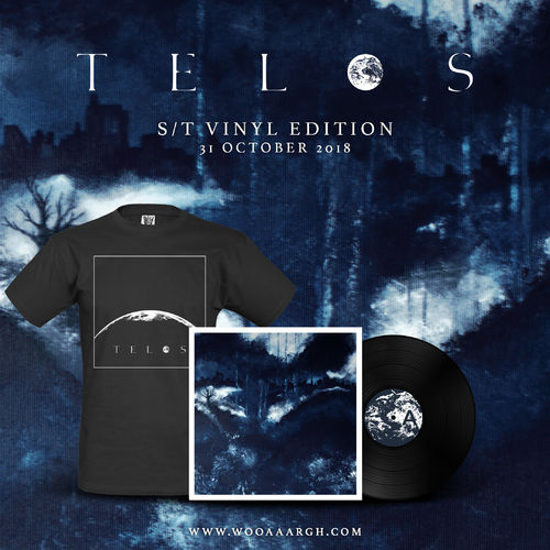 TELOS s/t LP Bundle (LP + T-Shirt)