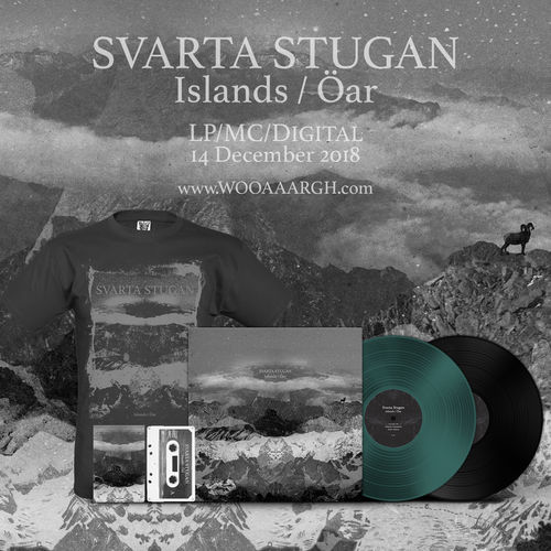 SVARTA STUGAN 'Islands / Öar' Bundle (LP, Cassette, T-Shirt)