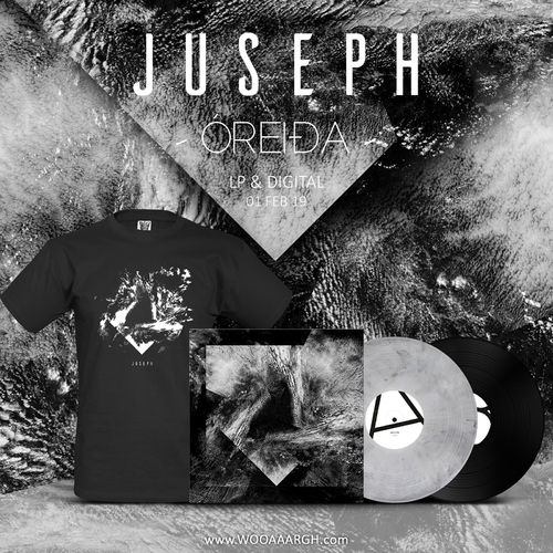 JUSEPH 'Óreida' LP + T-Shirt Bundle