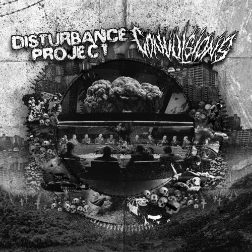 CONVULSIONS | DISTURBANCE PROJECT Split 7""