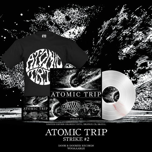 ATOMIC TRIP 'Strike #2' Bundle (LP,CD,Shirt)