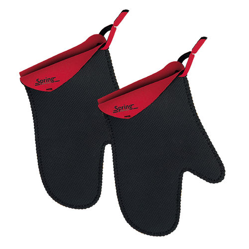 Spring - Grips Stove mitt short - Red