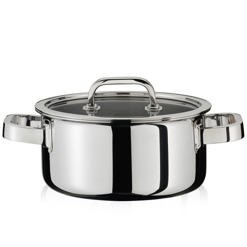 Spring - Pot series Finesse - Casserole with lid Ø 16 - 24 cm