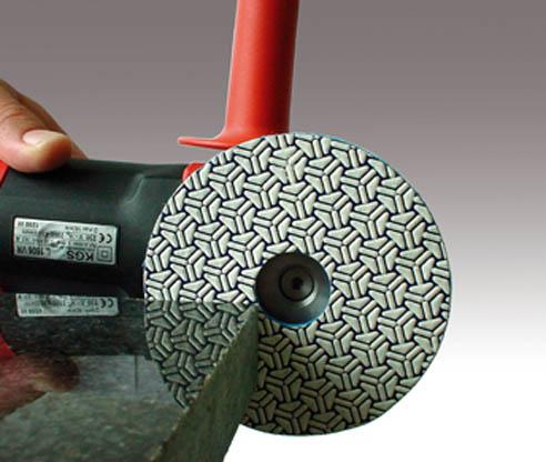 kgs telum diamant schleifscheibe 125 mm korn 60 steinmetzwerkzeuge paulus. Black Bedroom Furniture Sets. Home Design Ideas