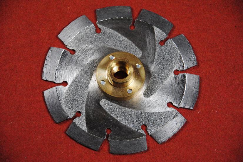 diamant trennscheibe abrasive premium mit kernschutz und montiertem flansch m14 gewinde 125 mm. Black Bedroom Furniture Sets. Home Design Ideas