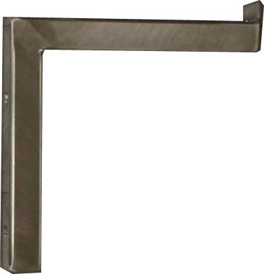 Wall console made of stainless steel 150x150 mm